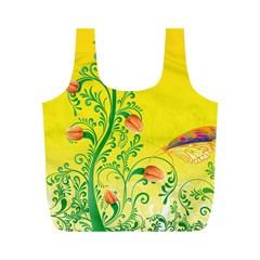 Whimsical Tulips Reusable Bag (M)