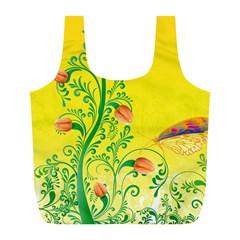 Whimsical Tulips Reusable Bag (L)