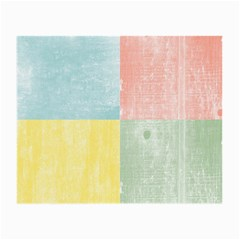 Pastel Textured Squares Glasses Cloth (Small, Two Sided)
