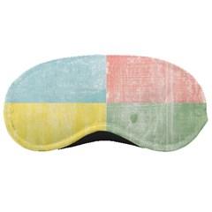 Pastel Textured Squares Sleeping Mask