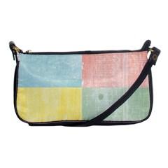 Pastel Textured Squares Evening Bag