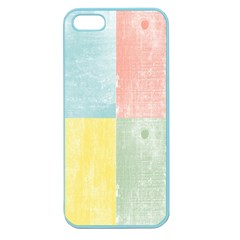 Pastel Textured Squares Apple Seamless Iphone 5 Case (color)
