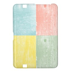 Pastel Textured Squares Kindle Fire HD 8.9  Hardshell Case
