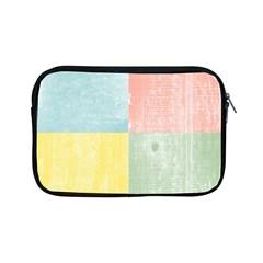 Pastel Textured Squares Apple iPad Mini Zippered Sleeve