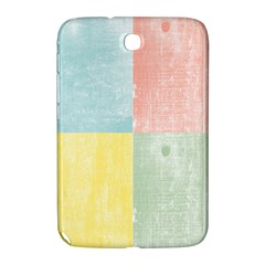 Pastel Textured Squares Samsung Galaxy Note 8.0 N5100 Hardshell Case