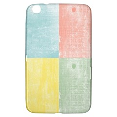 Pastel Textured Squares Samsung Galaxy Tab 3 (8 ) T3100 Hardshell Case