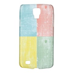 Pastel Textured Squares Samsung Galaxy S4 Active (i9295) Hardshell Case