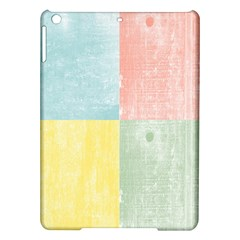 Pastel Textured Squares Apple iPad Air Hardshell Case