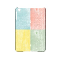 Pastel Textured Squares Apple Ipad Mini 2 Hardshell Case
