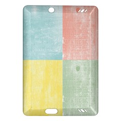 Pastel Textured Squares Kindle Fire Hd 7  (2nd Gen) Hardshell Case
