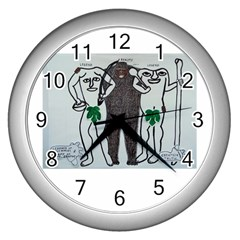 Legends & Truth Wall Clock (Silver)
