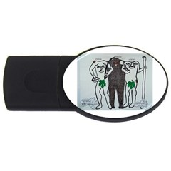 Legends & Truth 2GB USB Flash Drive (Oval)