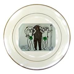 Legends & Truth Porcelain Display Plate
