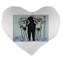 Legends & Truth 19  Premium Heart Shape Cushion