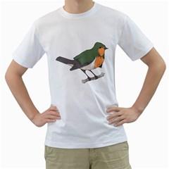 robinhood. Men s T-Shirt (White)
