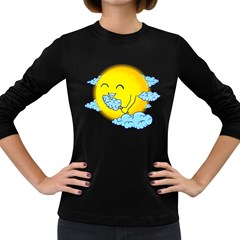 Cloud Candy Women s Long Sleeve T Shirt (dark Colored)