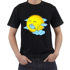 Cloud Candy Men s T Shirt (black)