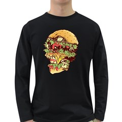 You Are What You Eat Men s Long Sleeve T-shirt (Dark Colored)