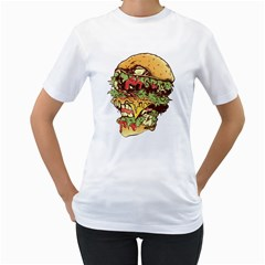 You Are What You Eat Women s T-Shirt (White)