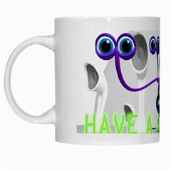 Have a good day (space cadet) White Coffee Mug