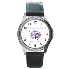 FMS Awareness Day 2014 Round Metal Watch