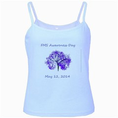 FMS Awareness Day 2014 Baby Blue Spaghetti Tank