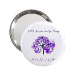 Fms Awareness 2014 Handbag Mirror (2 25 )