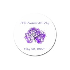 Fms Awareness 2014 Magnet 3  (round)
