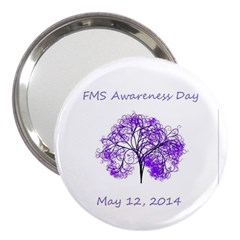 Fms Awareness 2014 3  Handbag Mirror