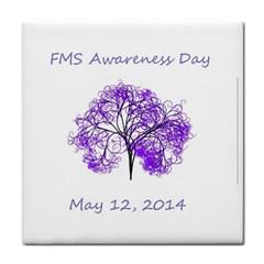FMS Awareness 2014 Ceramic Tile