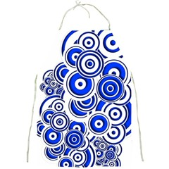 Trippy Blue Swirls Apron