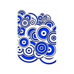 Trippy Blue Swirls Memory Card Reader (rectangular)