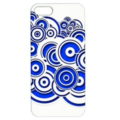 Trippy Blue Swirls Apple iPhone 5 Hardshell Case with Stand