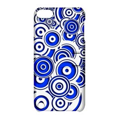 Trippy Blue Swirls Apple iPod Touch 5 Hardshell Case with Stand
