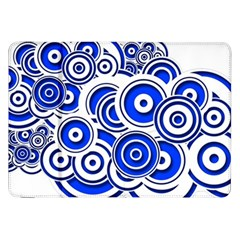 Trippy Blue Swirls Samsung Galaxy Tab 8 9  P7300 Flip Case