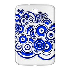 Trippy Blue Swirls Samsung Galaxy Note 8.0 N5100 Hardshell Case
