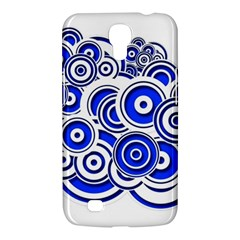 Trippy Blue Swirls Samsung Galaxy Mega 6.3  I9200 Hardshell Case
