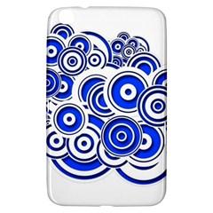 Trippy Blue Swirls Samsung Galaxy Tab 3 (8 ) T3100 Hardshell Case