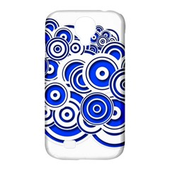 Trippy Blue Swirls Samsung Galaxy S4 Classic Hardshell Case (PC+Silicone)