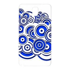 Trippy Blue Swirls Samsung Galaxy Note 3 N9005 Hardshell Back Case