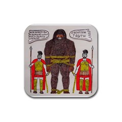 Big Foot & Romans Drink Coasters 4 Pack (Square)