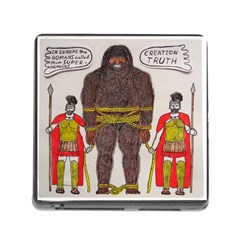 Big Foot & Romans Memory Card Reader with Storage (Square)