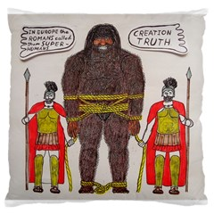 Big Foot & Romans Large Cushion Case (Single Sided)