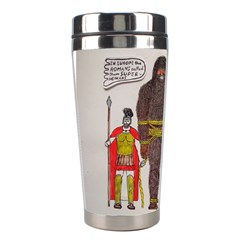 Big Foot & Romans Stainless Steel Travel Tumbler