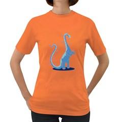 Hoopasaurus Women s T-shirt (Colored)
