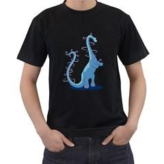 Hoopasaurus Men s T Shirt (black)