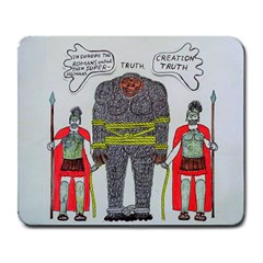 Big Foot 2 Romans Large Mouse Pad (Rectangle)
