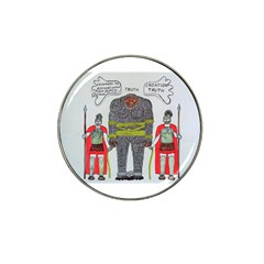 Big Foot 2 Romans Golf Ball Marker 4 Pack (for Hat Clip)