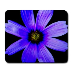 Purple Bloom Large Mouse Pad (Rectangle)