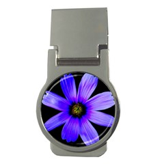 Purple Bloom Money Clip (Round)